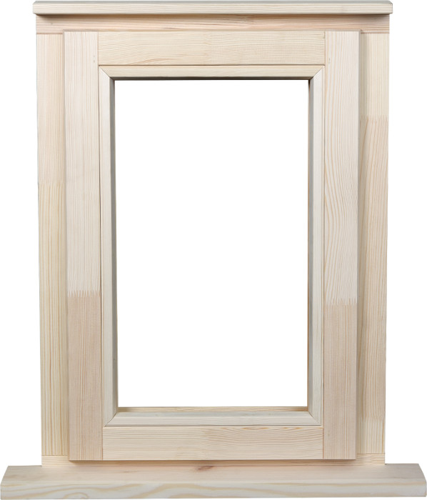 Pine stormproof window